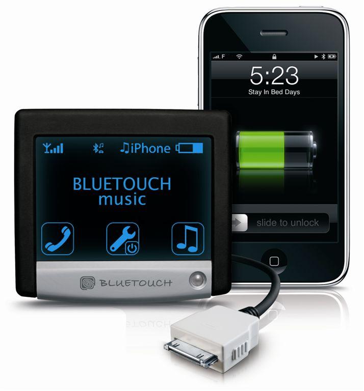 מודרניסטית דיבורית קבועה לרכב bluetouch עם חיבור לאייפון   דיבוריות קבועות לרכב HE-19